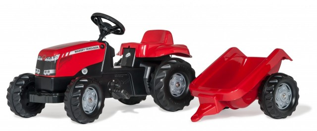 Tractor Massey Ferguson cu pedale  Rolly Toys