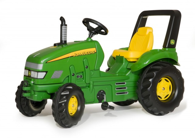 Tractor John Deere X-Trac cu pedale Rolly Toys