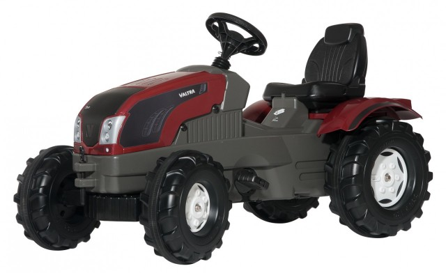 Tractor Valtra T213 Farmtrac cu pedale Rolly Toys